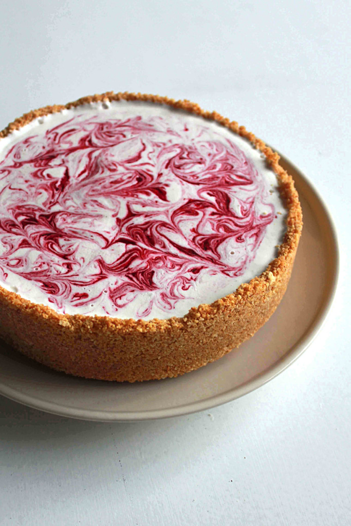 Raspberry Swirl Ice Cream Pie_web
