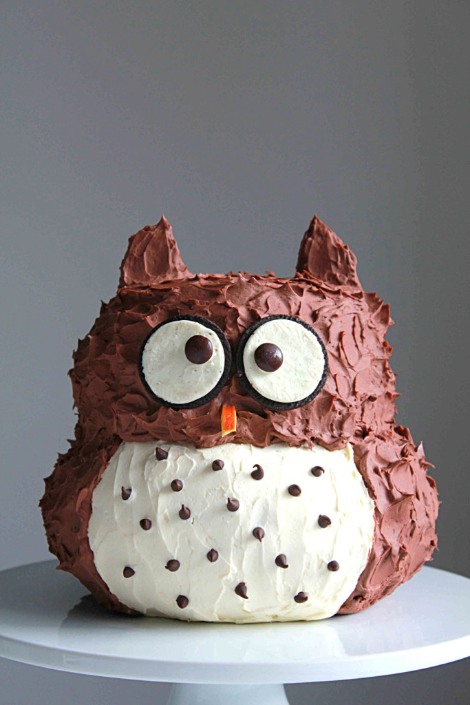 Owl Cake - Oh Sweet Day!