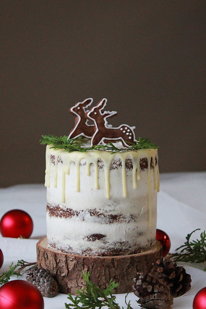 chocolate snow cake